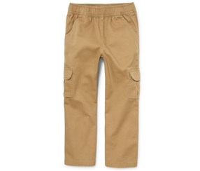 The Children's Place Baby Boys' Pull on Cargo Pants, Khaki