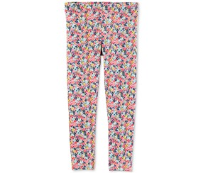 Carter's Toddler Girls Floral Leggings, Pink