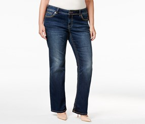 American Rag Plus Size Betsy Wash Bootcut Jeans, Betsy Wash