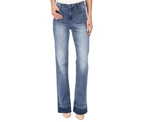 Jag Women's Wallace Flare Jeans, Blue