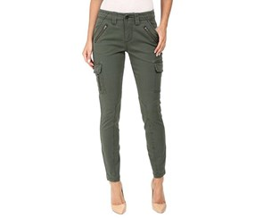 Jag Jeans Women's Angie Skinny Cargo Pants in Bay Twill, Olive