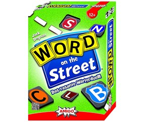 AMIGO Word on The Street Party Game, Green