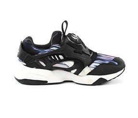 Puma Women's Sports Shoes, Black/Purple/White