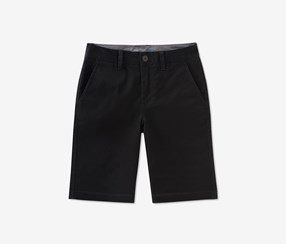 Calvin Klein Motion Stretch Flat-Front Short, Black