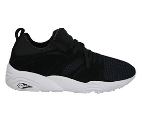 Puma Men's Basket Blaze of Glory, Black/White