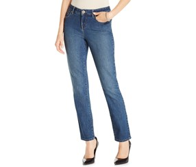 Style & Co. Petite Tummy-Control Skinny-Leg Jeans, Astor