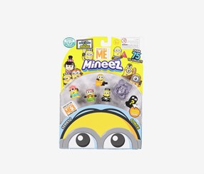 Mineez Despicable Me Deluxe Character 6 Pack, Combo