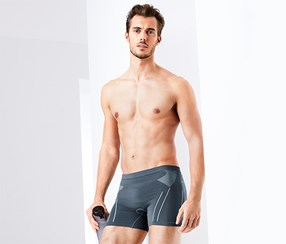 Men's Cycling Underwear, Grey