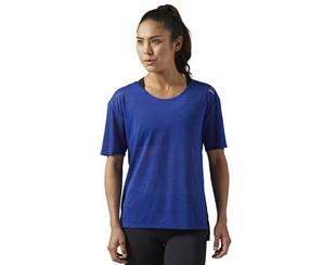 Reebok Women's Activechill Slub Tee, Dark Blue