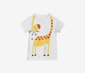 First Impressions Baby Boys Graphic-Print Cotton T-Shirt, White