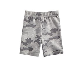 First Impressions Camo-Print Shorts, Chrome Heather