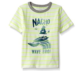 The Children's Place Boy's Graphic Top, White