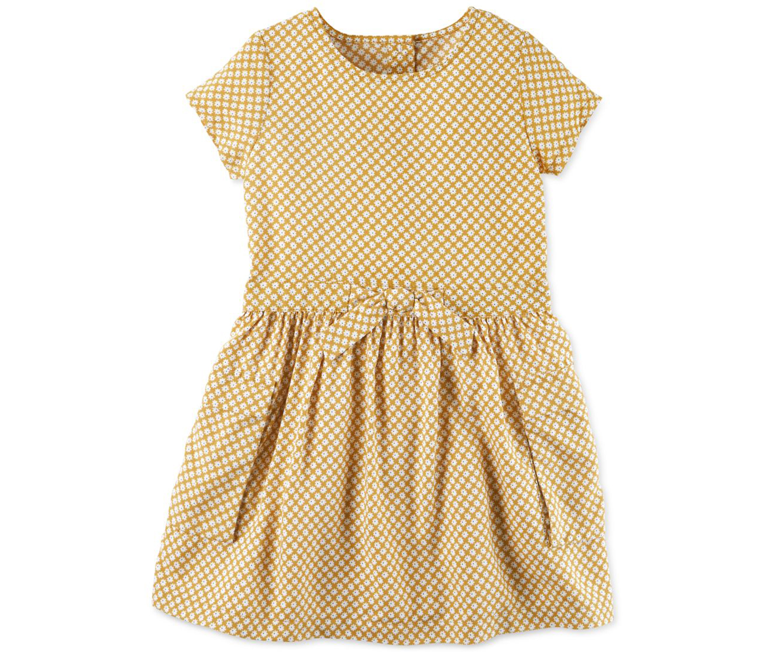 ac12807381a1 Shop Carters Carter's Girl's Sleeveless A-Line Dress, Tod Gold for ...