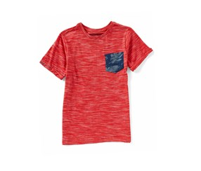 Lucky brand Pocket Tee, Cardinal Red