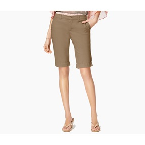 ef797137136 Women s Cuffed Bermuda Shorts