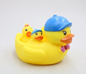 Cute Duck Bath Toy, Yellow