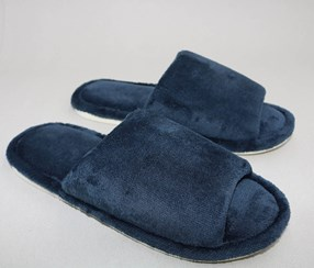 Men's Open Toe House Slipper, Navy