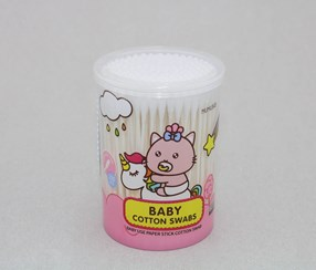 Baby Cotton Swabs, White