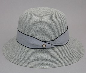 Women's Hat, Beige/Grey
