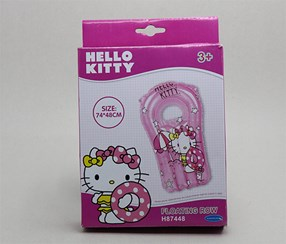 Hello Kitty Inflatable Swim Float, Pink