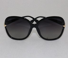 Over Sized Sunglasses, Black