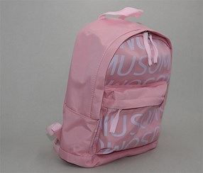 Backpack Letters Pattern, Pink