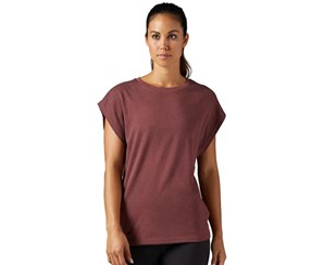 Reebok Women's Sports Tee, Burnt Sienna