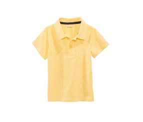 First Impressions Cotton Polo, Sunny Yellow