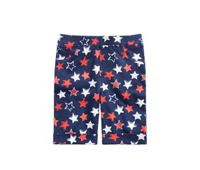 Epic Threads Star-Print Bermuda Shorts, Medieval Blue