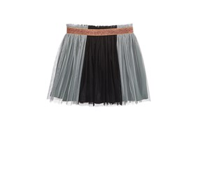 Epic Threads Mix and Match Tutu Skirt, Black/Grey
