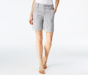 Inc International Concepts Utility Shorts, Grey