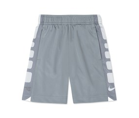 Nike Boy's Little Boys Elite Shorts, Gray