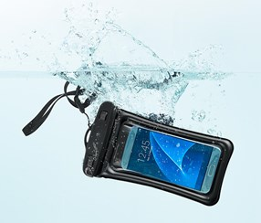 Waterproof Smart Phone Cover, Black