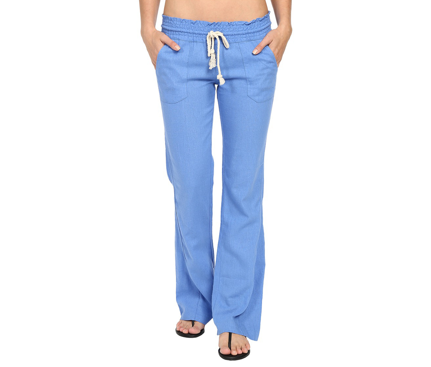 b84524180f Shop Roxy Roxy Women's Oceanside Pant, Blue for Women Clothing in ...