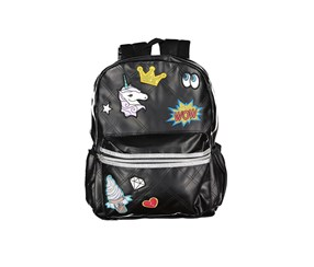Accessory Innovations Kids Girls Patch It Up Backpack, Black