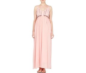 Catherine Malandrino Women's Embellished Maxi Dress, Rose