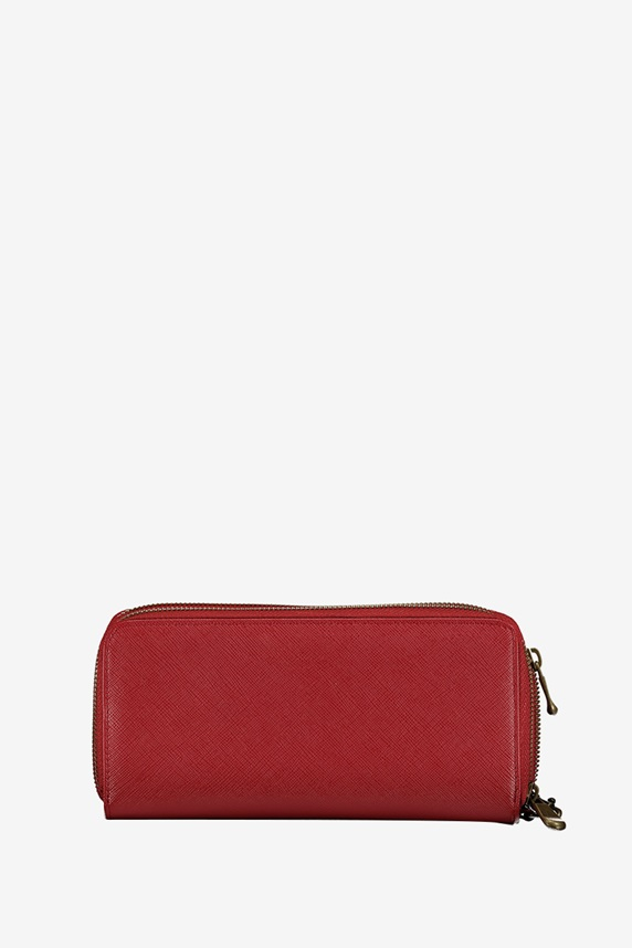 8cc19681701a Jill-E Designs Bryn Tech Wristlet with Built-In Phone Charger, Red