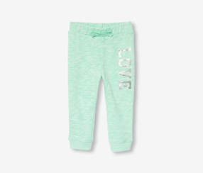 The Children's Place Printed Jogger, Mermaids Tale Mint