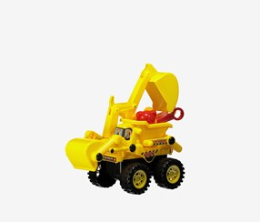Beach Toys Construction Vehicle, Yellow