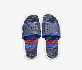 Men's Slippers, Dark Blue