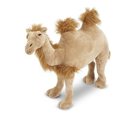 Melissa & Doug Camel Plush Toy, Tan