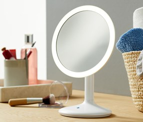 LED Make-up Mirror, White
