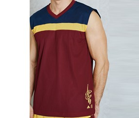 Adidas Men's Top, Navy/Maroon