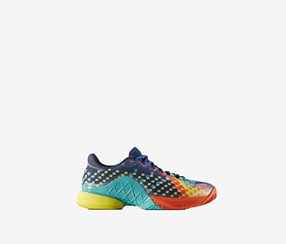 Adidas Men's Shoes, Blue/Orange/Yellow/Navy