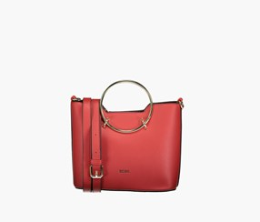 Women Sammie Satchel Bags, Red