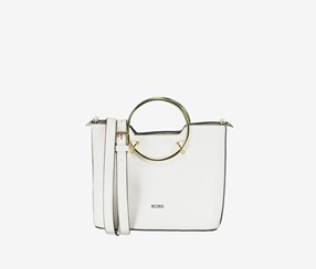 Women Sammie Satchel Bags, White