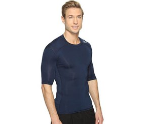 Adida Techfit Chill Short Sleeve, Collegiate Navy