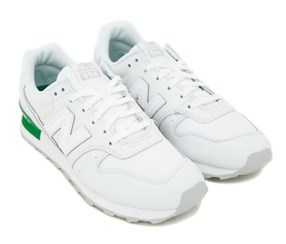 New Balance Women's Casual Shoes, White/Green