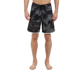 Hurley Men's P60 BP Tie Dye Board Short, Black