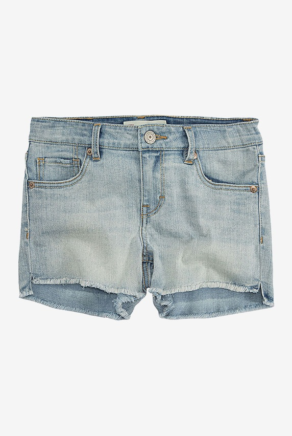 ca5a5c28414 Levi's Altered Shorty Shorts, Bleach Out